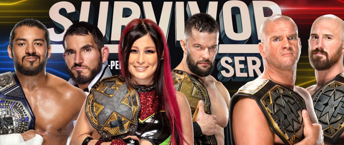 изображение 1 What If NXT Fought at WWE Survivor Series 2020?